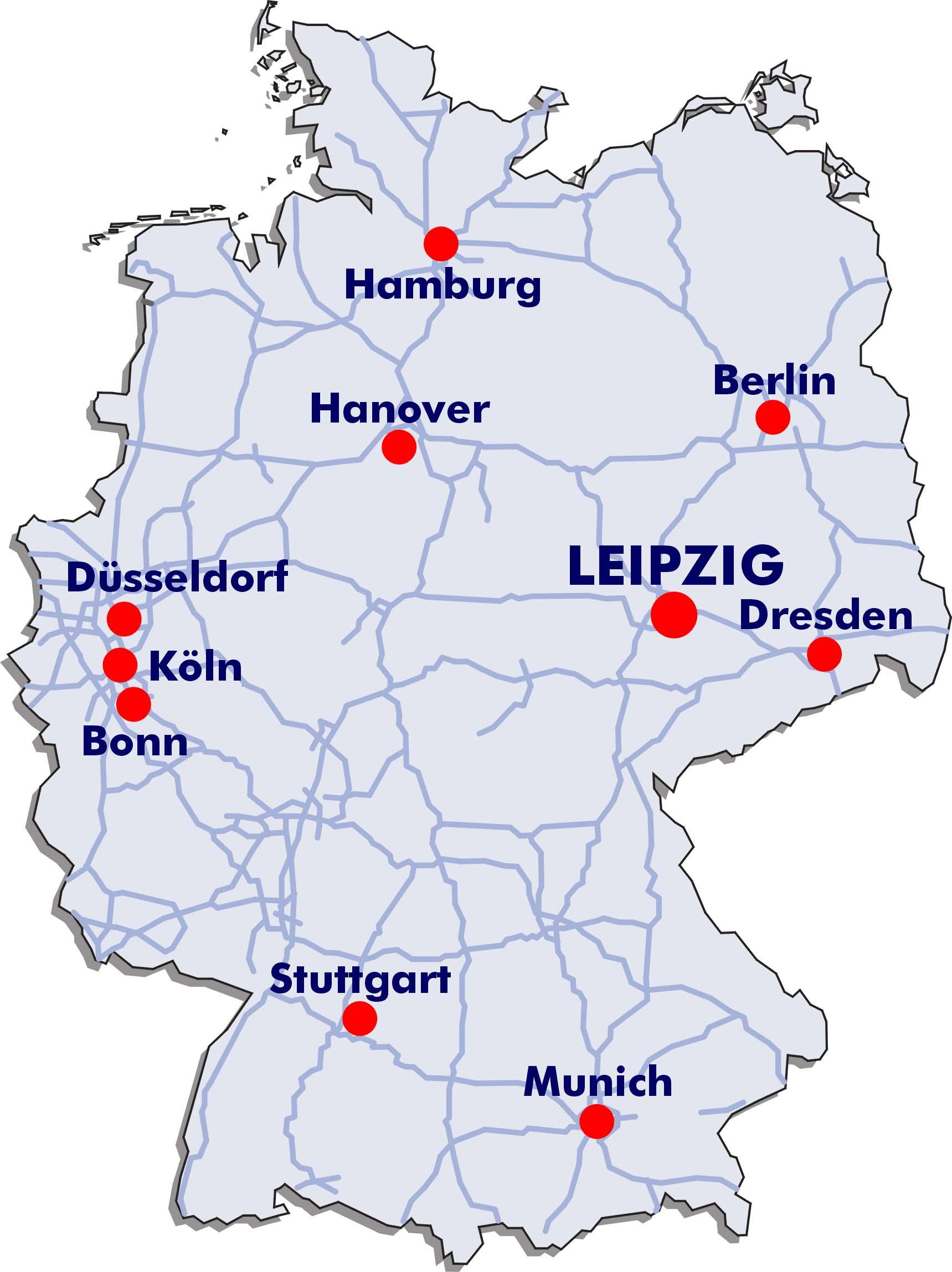 Leipzig Germany Map Rtlbreakfastclub